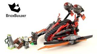 Lego Ninjago 70624 Vermillion Invader - Lego Speed build