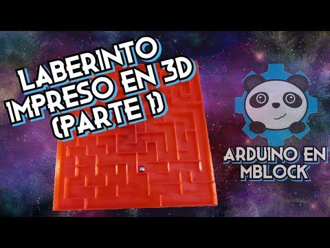Cómo Controlar Un Laberinto Impreso en 3D con Arduino en mBlock