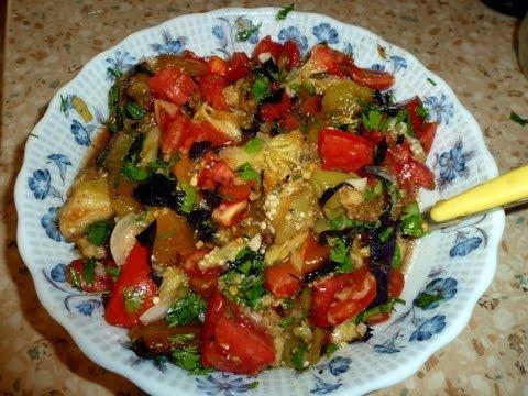 Салат из Печеных Баклажанов + блаблабла о фотографии :)