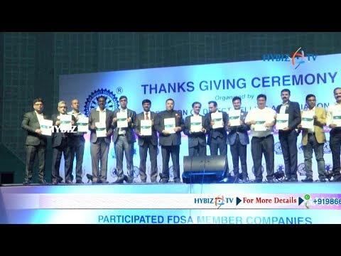 FDSA thanks giving ceremony to Telangana Govt | Federation of Direct Selling Association