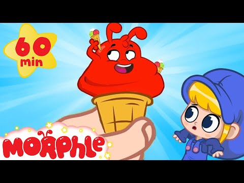 What Happens When Morphle Eats Too Much Ice Cream | Cartoons For Kids | Sandaroo Kids Channel