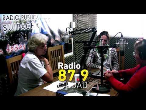 Angeles Rufino y Sara Nouveliere en Radio Ciudad