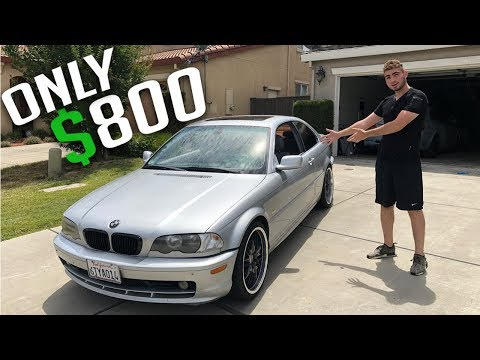 TURNING THIS $800 BMW E46 TO A $3000 BMW! (Part.1)