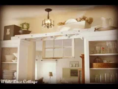 Decorations Ideas Above Kitchen Cabinets YouTube Impressive Above Kitchen Cabinets Ideas