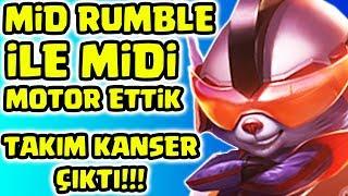 MID RUMBLE İNANILMAZ GÜÇLÜ MOTOR ETTİK !! TAKIM KANSERLEDİ BENİ !!! | Apophis