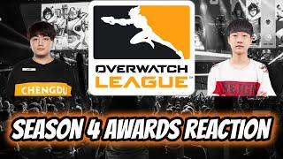 Overwatch League Season 4 Awards Reaction