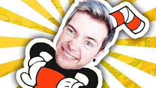 DANTDM.. STILL A CUPHEAD.. **i completed the game!!** thumbnail