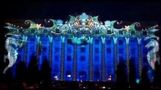 Проекционное(стереограф)3Dmapping шоу в Харькове на День города 23августа2013-70лет освобождения ВОВ