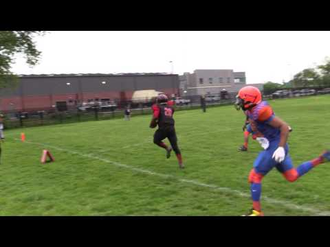 Wilmington Wolfpack RB #20 Levin Carn for the earley TD