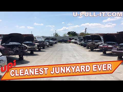 CLEANEST YOU PULL IT JUNKYARD EVER