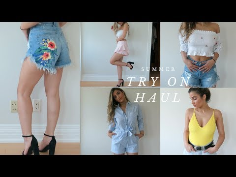 949ab1bfe0d SUMMER  VACATION TRY ON CLOTHING HAUL ♡