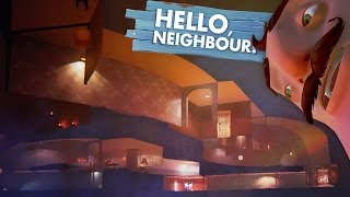 GIANT SECRET BASEMENT!!! (Hello Neighbor Alpha 2 / Hello Neighbour Gameplay)