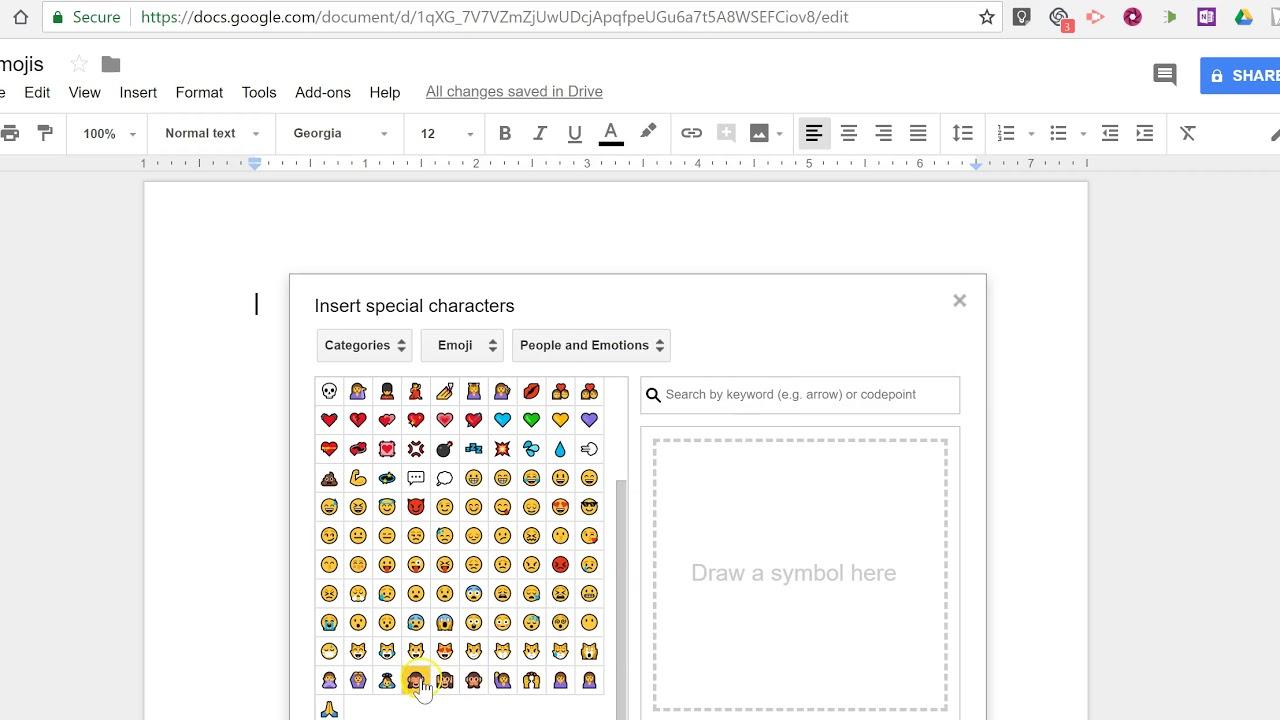 Customizing Fonts and Emojis in Google Docs – TC Net-Works, Inc