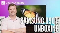 Samsung Q90T QLED TV Unboxing, setup, impressions