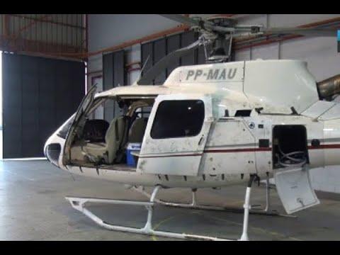 Pilotos suspeitos de envolvimento com o tráfico de drogas são presos | SBT Brasil (26/04/18)