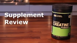 Optimum Nutrition Creatine - Review