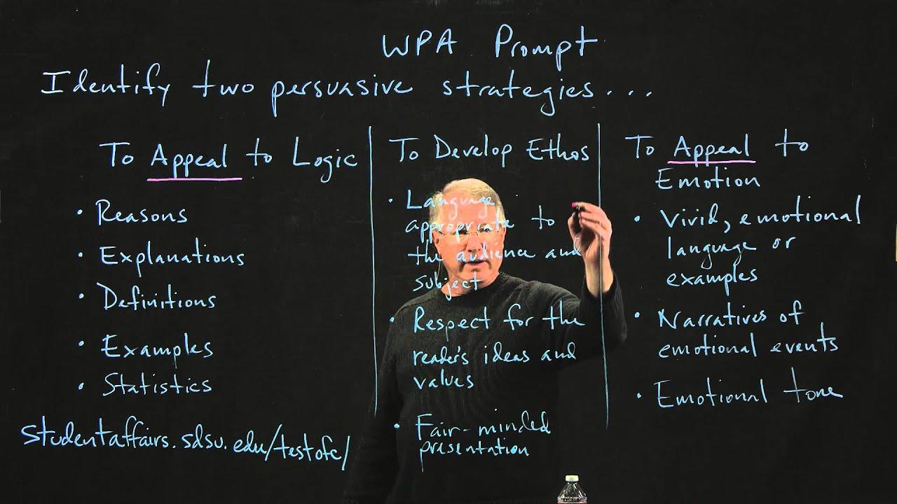 identifying rhetorical strategies