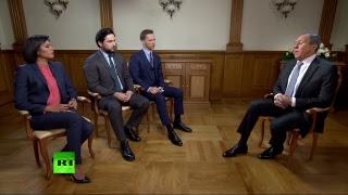 Большое интервью с главой МИД России Сергеем Лавровым — LIVE