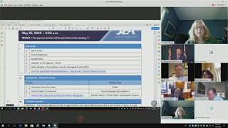 JEA Board Meeting 5-26-2020