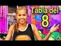 Canción de la tabla del 8 - Las Tablas de Multiplicar al Estilo Urbano - Videos Educativos #
