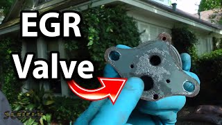 Cool Trick to Clean EGR Valve in Your Car (Low Flow Code P0401)