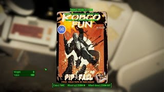 fallout 4 Fort Hagen Magazine Energy Weapons Bobblehead Guns and Bullets Issue 1