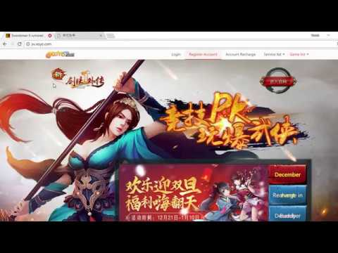 how to register and install Jx2 china Speak Khmer