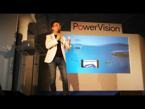 PowerRay ROV European presentation by Wally Zheng CEO