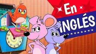 HICKORY DICKORY DOCK En Inglés, Canciones infantiles