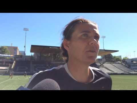 Watch: Portland Thorns captain Christine Sinclair: