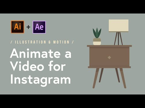 Illustrated & Animated Video for Instagram