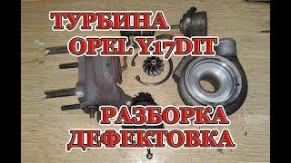 Обзор, разборка и дефектовка турбины Opel.