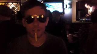 Stupid cigarette trick