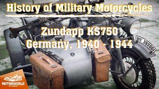 Zündapp KS 750   1944, Germany. Review & test-drive.