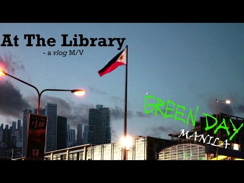 "First Time in Manila (w/ At The Library ""vlog"" M.V)"