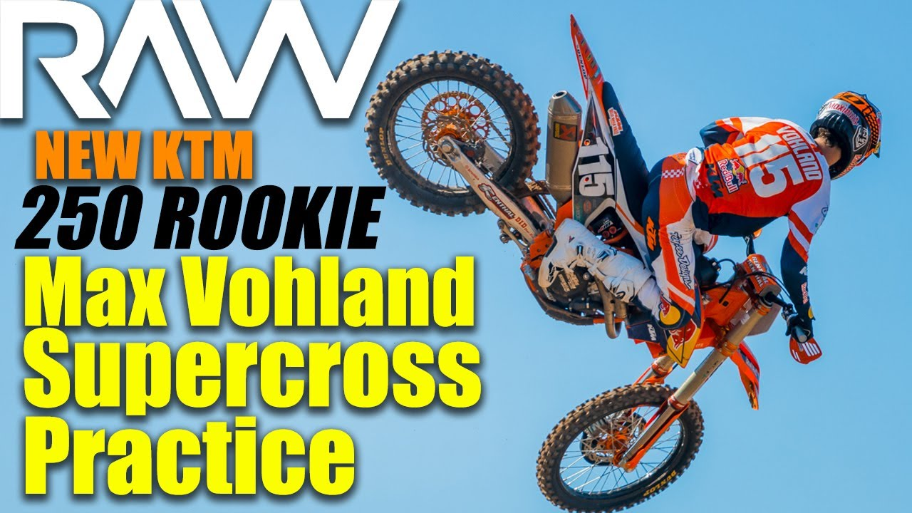 Max Vohland on his Factory Red Bull KTM