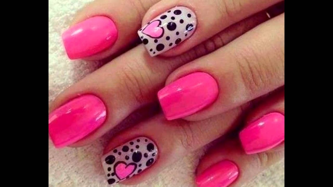 Gallery Of Cute Nail Designs For Fourth Of October Youtube