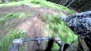 Downhill Mountain Biking - GoPro HD Hero 3 - Alps 2014!