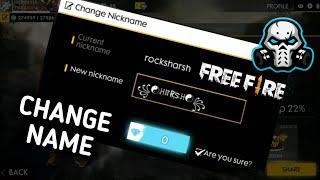 49 Elmas İle FREEFİRE İsim Değiştirme 2019 || Değişim Adı FreeFire #
