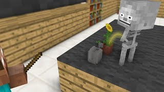 Kids Mobs Monster School: Draw - Alchemy - Plants - Minecraft Animation