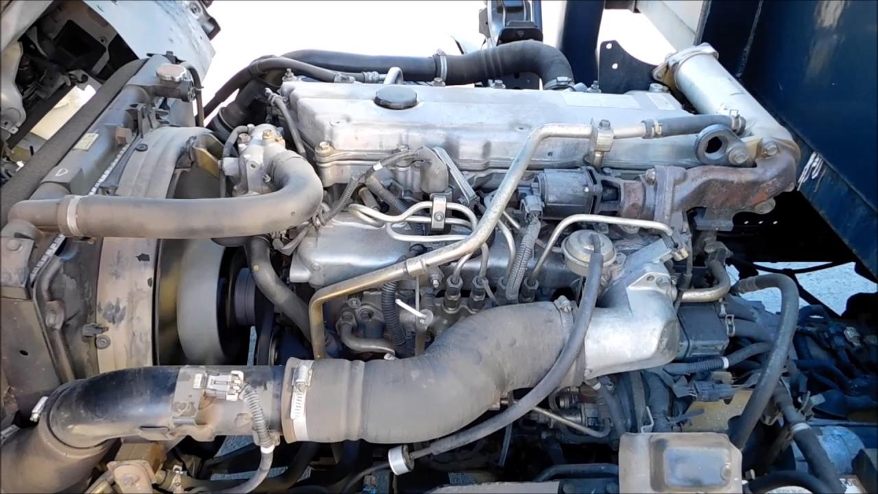2006 isuzu nqr 5 2l diesel 12 flatbed truck [ 1280 x 720 Pixel ]