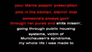 Repeat youtube video Eminem - Cleanin out my closet Karaoke