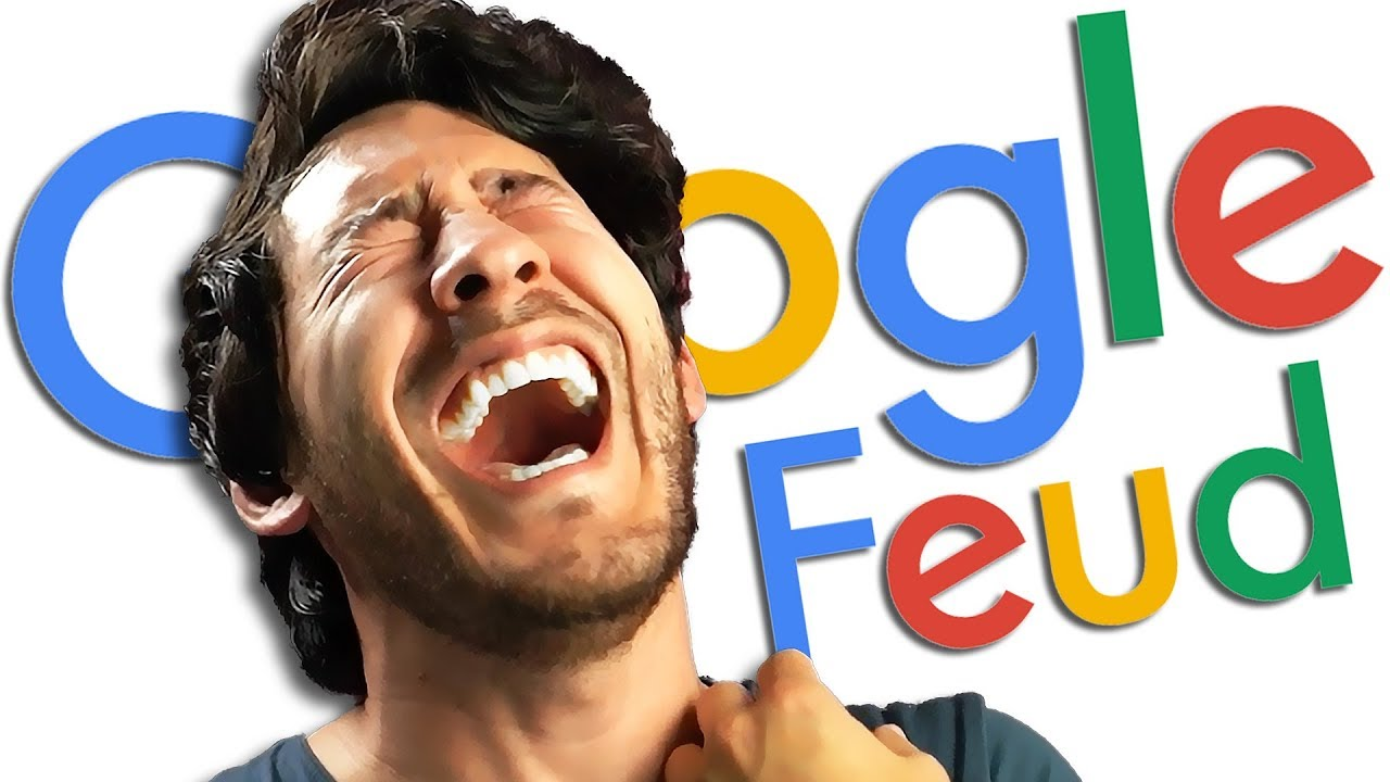 I CAN'T BREATHE!!   Google Feud #4