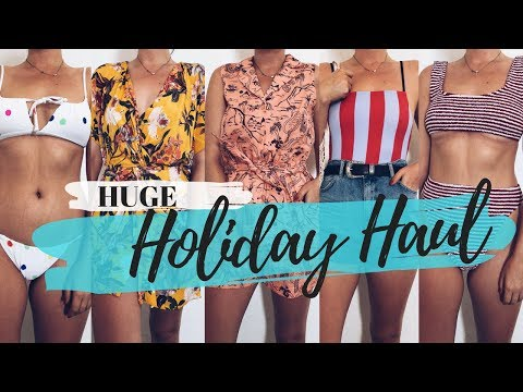 HUGE Holiday Haul || Swimwear, Outfits & Accessories - May 2018 || COCOA CHELSEA