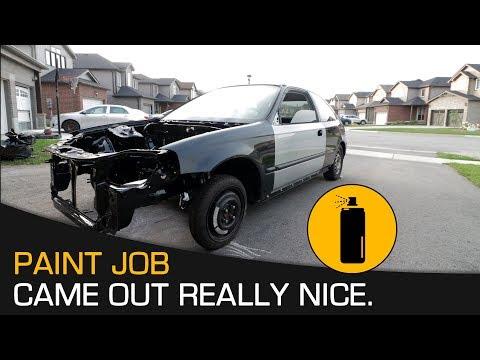 How To Repair Car Yourself – Spray Paint Car Interior