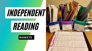 Independent Reading Baskets for Children