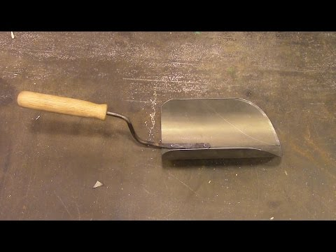 How to Make a Big Homemade Hand Scoop
