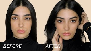 TESTING INSTANT FACE LIFT TAPE...OMG