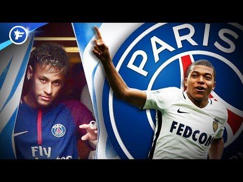 Kylian Mbappé a choisi Paris grâce à Neymar   Revue de presse
