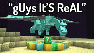 The FUNNIEST FAKE Minecraft Speedruns EVER...